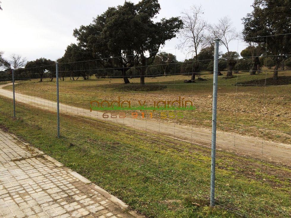 Vallado de fincas rusticas cercado rural con malla cinegtica with vallado de fincas rusticas - Vallado de fincas precio ...