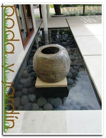 Dise o de fuentes de jard n poda y jard n for Fuentes de agua para interior